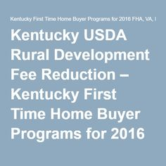 1000+ images about 100% Financing Zero Down Payment Financing Kentucky Mortgages and Home loans ...