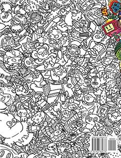 Doodle Invasion: Zifflin's Coloring Book: Zifflin, Kerby Rosanes: 9781492977056: Amazon.com ...