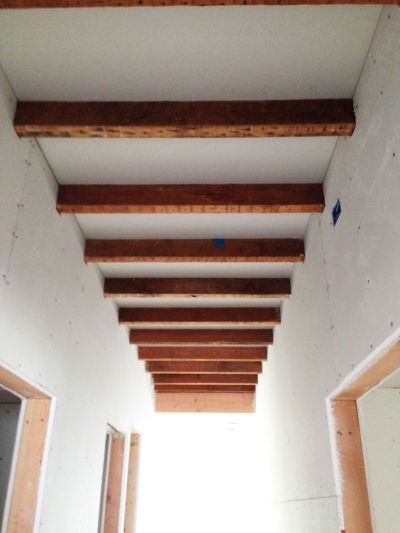 Portrayal of Exposed Ceiling Beams Ideas   Interior Design Ideas   Pinterest   Drywall, Exposed ...