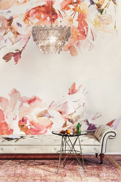 Murals, Anthropologie and Wallpapers on Pinterest