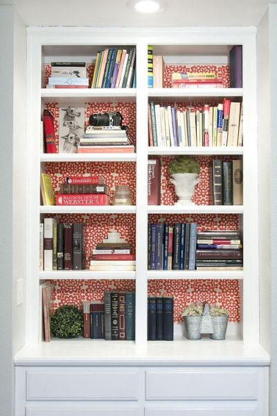 wallpaper behind the shelves | For the Home | Pinterest | Wallpapers, Shelves and The O'jays