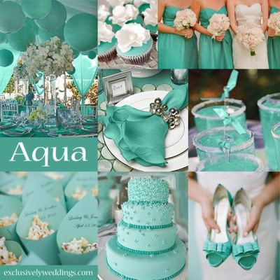10 Awesome Wedding Colors You Haven't Thought Of | Teal ...