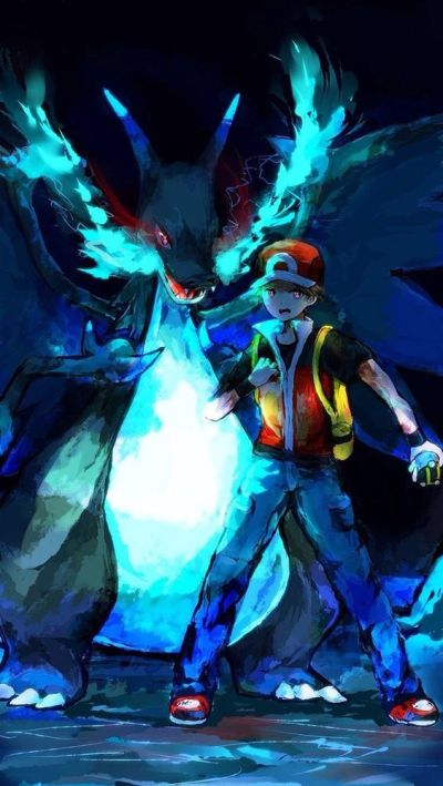 Pokemon trainer red, Trainers and Pokemon on Pinterest