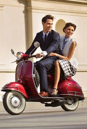 the classic Vespa lifestyle | Vespa Scooters | Pinterest ...