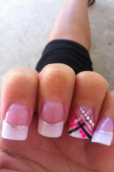 Pretty nail designs to do at home | Pretty easy nail designs | Pretty nail designs tumblr ...