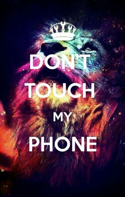 Don't touch my phone | Fond d'écran,Wallpaper. | Pinterest | Phones