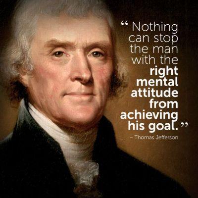 #inspirational #quote by Thomas Jefferson | Motivations | Pinterest | Declaration of, Achieve ...