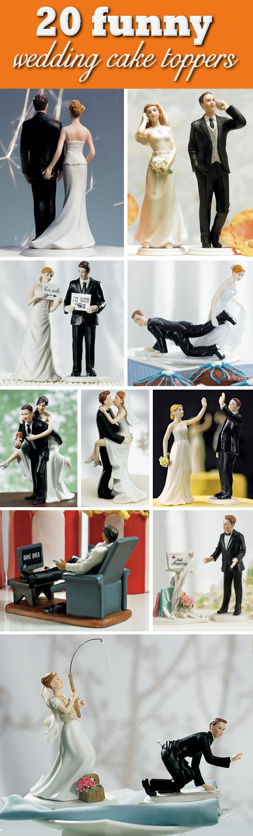funny cake toppers wedding cake toppers funny 20 Humorous Funny Wedding Cake Toppers that will have your guests laughing