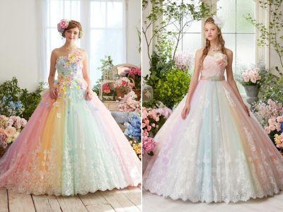 17 Best ideas about Pastel Wedding Dresses on Pinterest ...