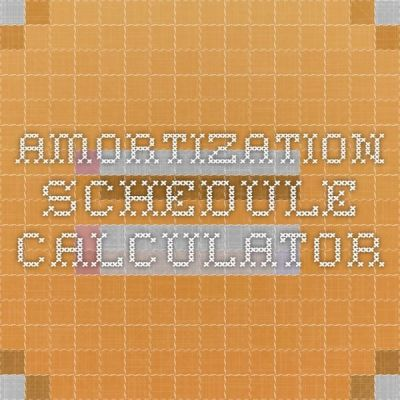 1000+ ideas about Amortization Schedule on Pinterest | Mortgage calculator, Home equity loan and ...