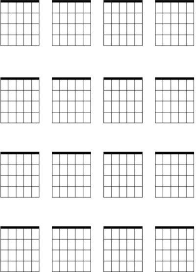 Ukulele Blank Tab Sheet - DopePicz | Music | Pinterest | Ukulele
