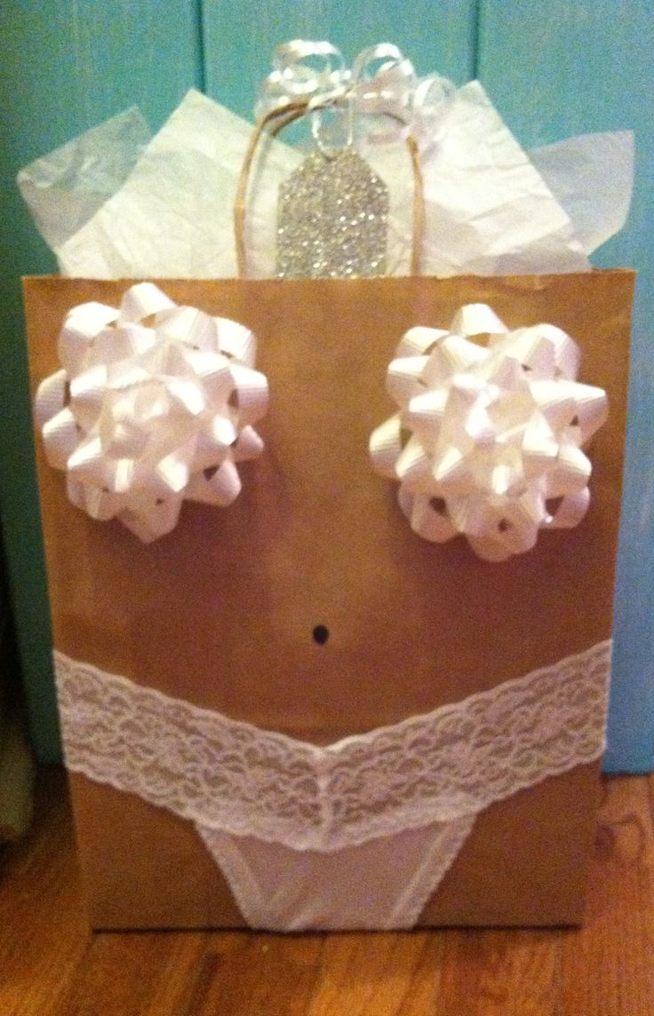 bridal shower gifts wedding gift Lingerie gift bag that everyone will remember See more bridal shower gift ideas at www
