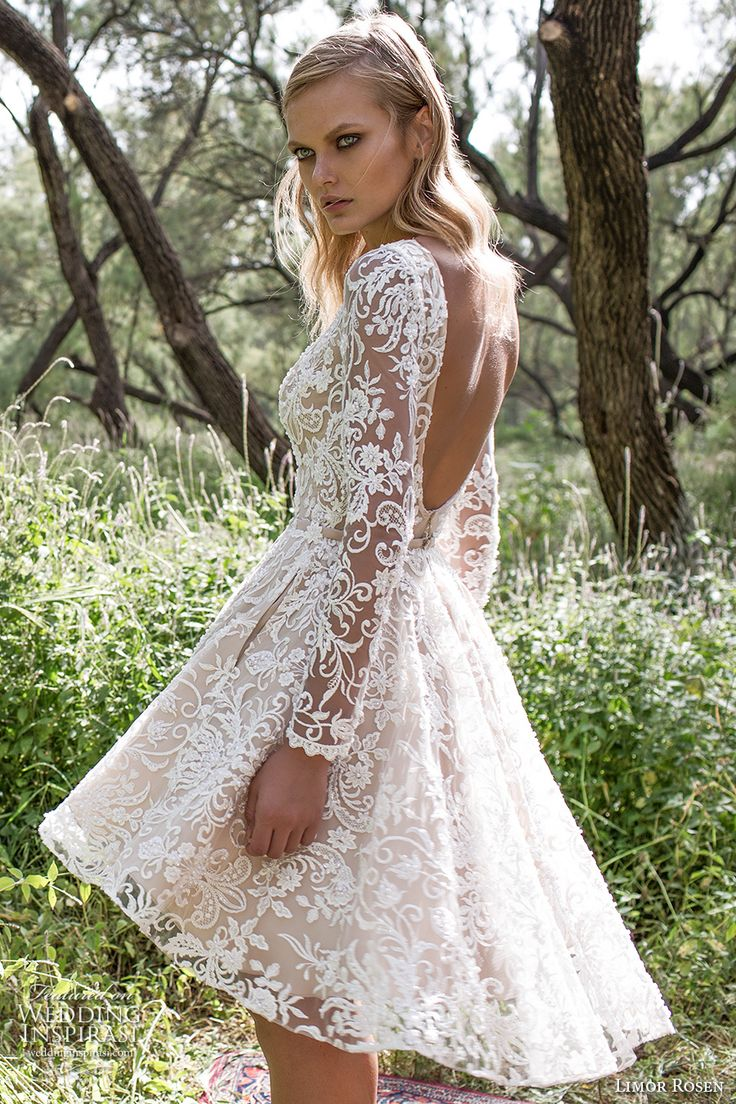 short wedding dresses wedding dress with pockets Limor Rosen Wedding Dresses Birds Of Paradise Bridal Collection
