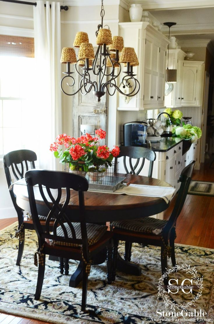 white kitchen table set farmhouse kitchen table sets THE SUMMER FARMHOUSE KITCHEN