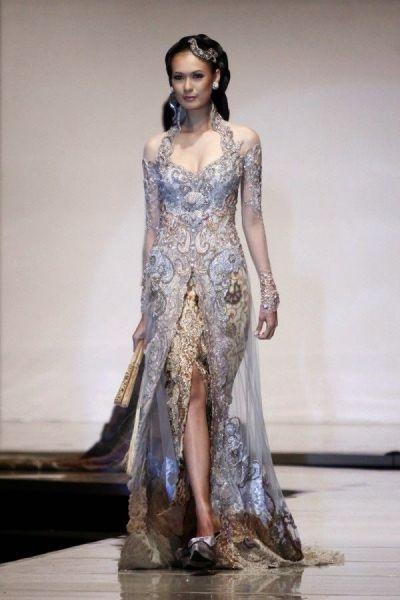 Kebaya Wedding Dress Model Kebaya Modern | Kebaya Kebaya ...
