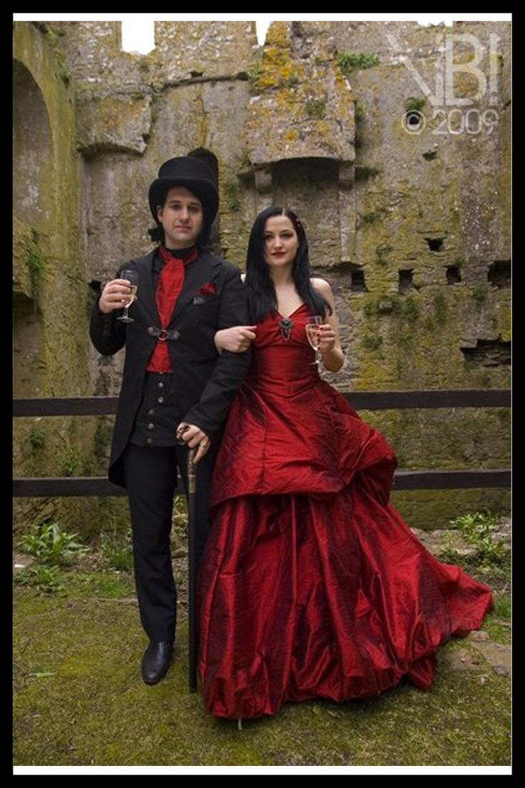 goth inspired weddings red gothic wedding dress Wonderful goth wedding dress 3