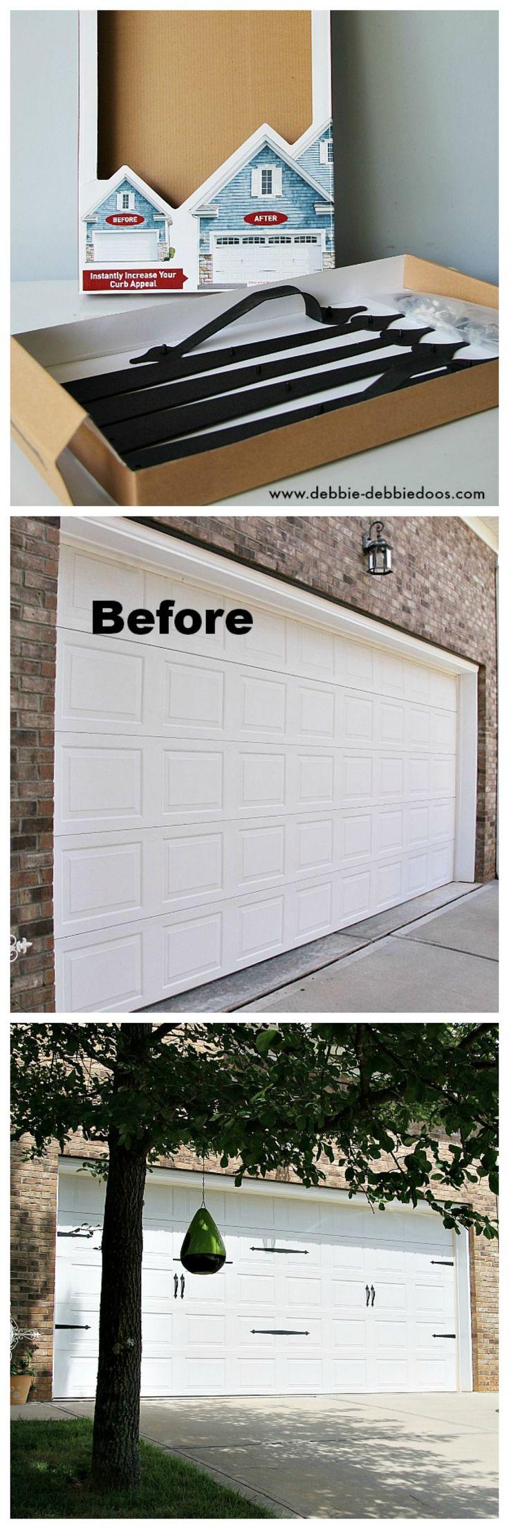 Garage Door Decorations And Makeover Garage Door Decorations Carriage Style  Garage Door