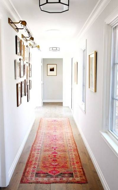 17 Best ideas about Narrow Hallway Decorating on Pinterest | Narrow hallways, Narrow entryway ...