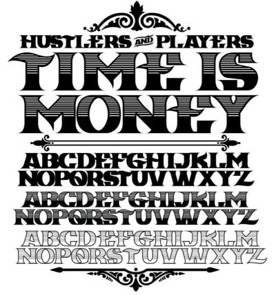 Time Is Money font | Random | Pinterest | Fonts