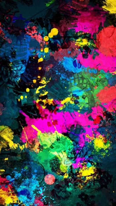 Beautiful Fantasy Colorful Art Abctract iPhone 5 HD Wallpapers | Lugares para visitar ...