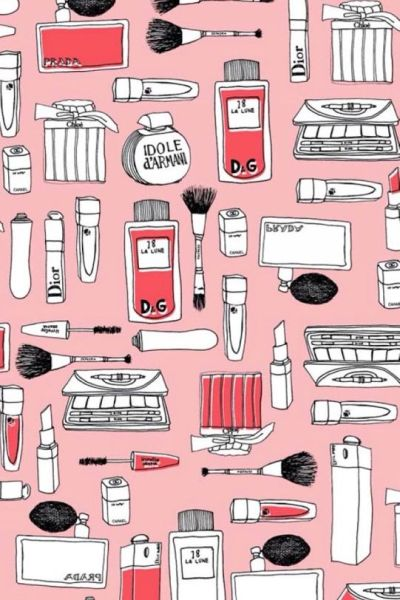 Makeup wallpaper | Girly | Pinterest | Wallpaper for iphone, Planners and Art