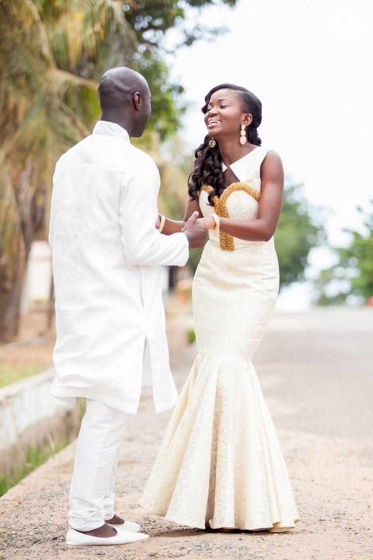 my big fat liberian wedding african wedding dress Traditional wedding dress Dabua Serwa