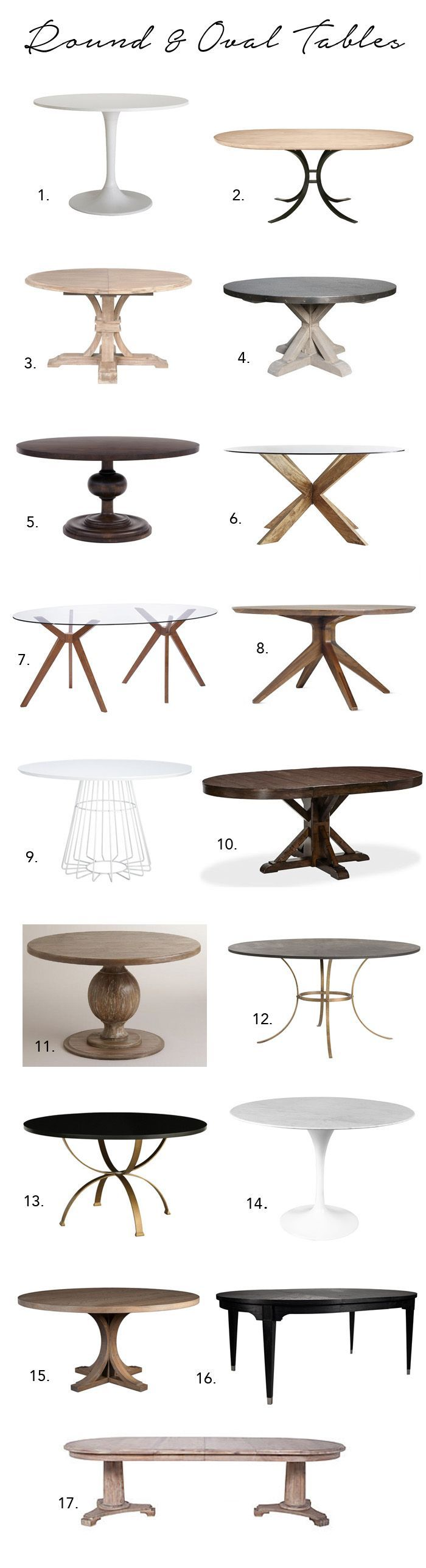 small round kitchen table small kitchen tables Elements of Style Blog A Huge Dining Table Roundup http