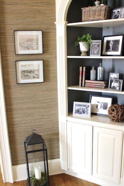 Best 25+ Corner hutch ideas on Pinterest   Dining room corner, White corner cabinet and White ...