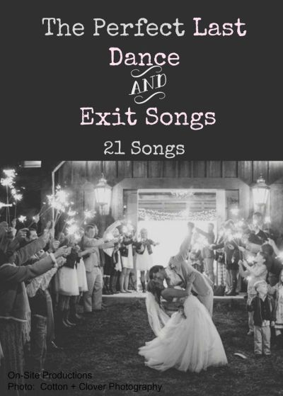 1000+ ideas about Wedding Exit Songs on Pinterest ...