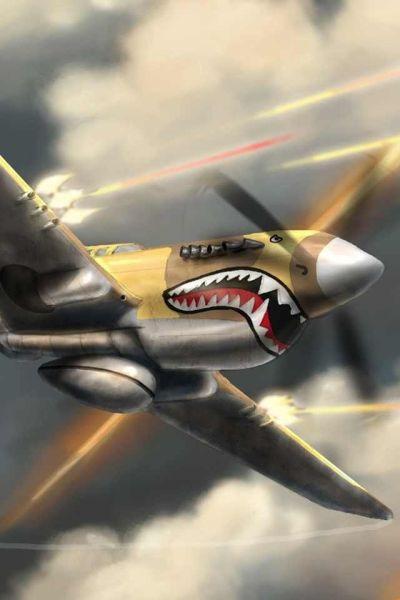 171 best images about P-40 Warhawk, Kittyhawk, Tomahawk on Pinterest | Luftwaffe, Mouths and ...