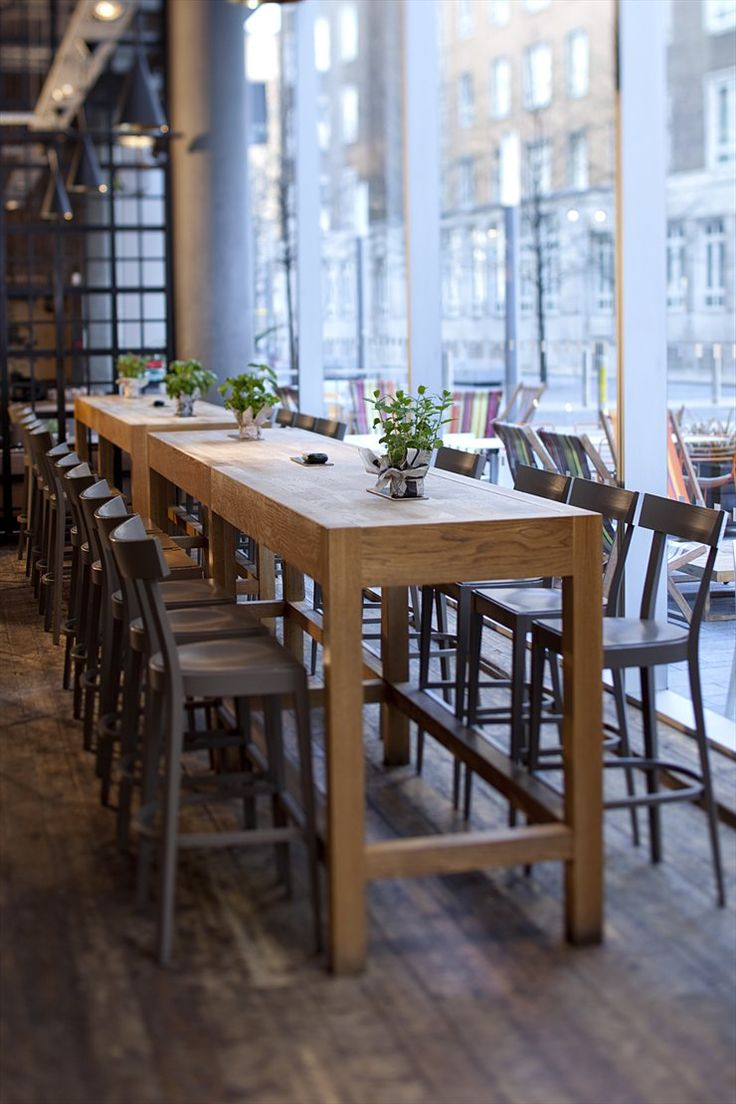 high top tables high top kitchen table The Refinery Shoreditch London