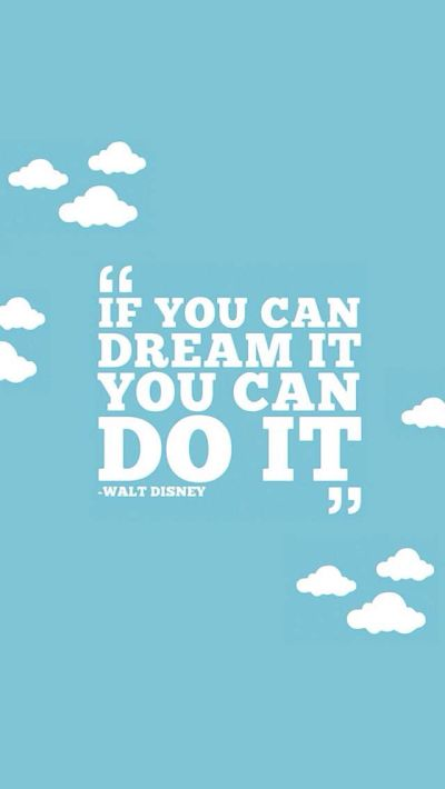Walt Disney Quote. Amazing. | iPhone Wallpapers | Pinterest | Disney, Its you and You are