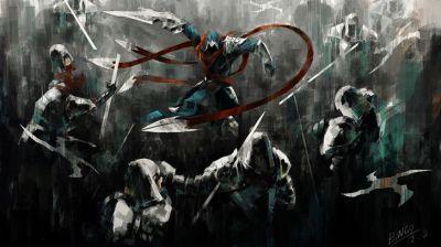 League of Legends Talon Cool Wallpaper HD Art 1920×1080   League Of Legends   Pinterest ...