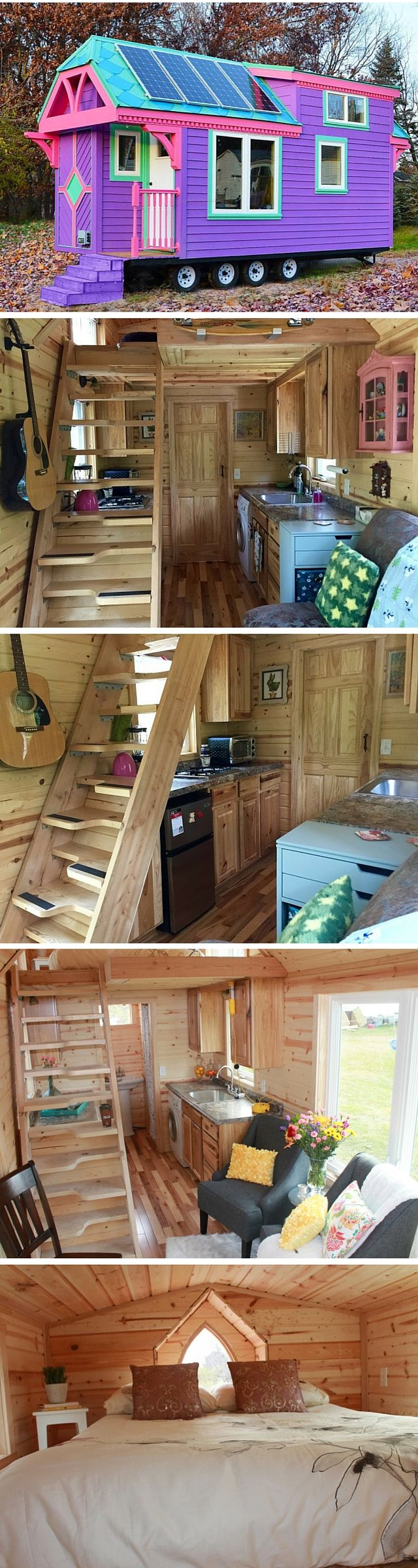 tiny house interiors hgtv kitchen remodel best images about Tiny House Interiors on Pinterest Loft Buses and Tiny kitchens