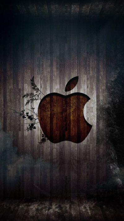 Apple Logo 1 #iPhone 5s #Wallpaper | Enter http://www.ilikewallpaper.net/iphone-5-wallpaper/ to ...