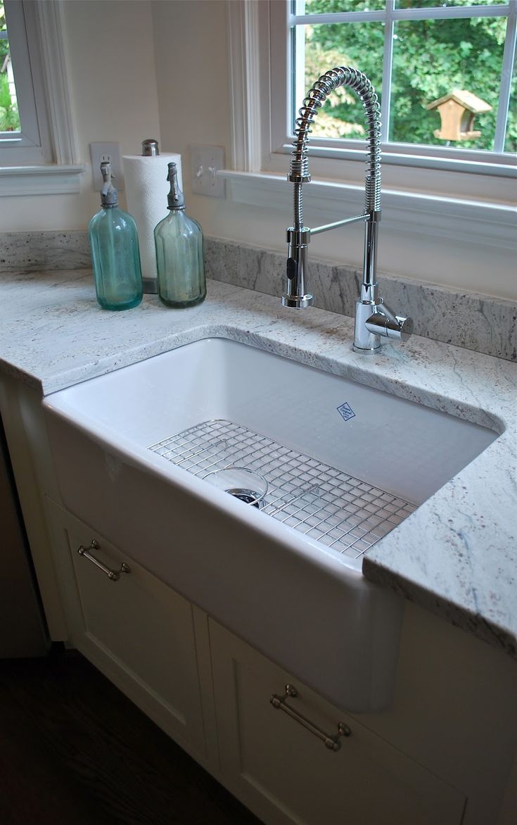 granite kitchen sinks colonial kitchen sink Find this Pin and more on my house The kitchen faucet