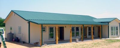 metal buildings with living quarters | ... living quarter in an existing barn or commercial ...