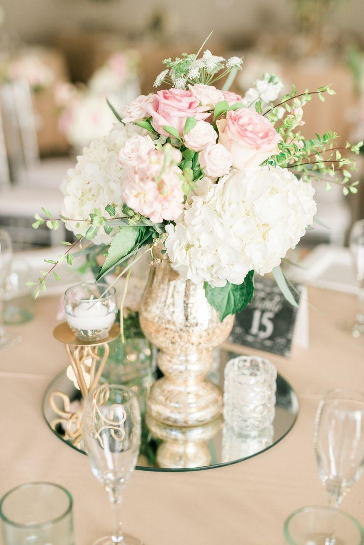 mirror wedding centerpieces wedding centerpiece 40 Ideas Spring Floral Wedding Centerpieces