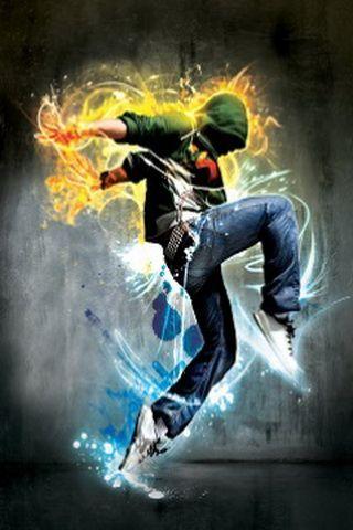 Cool Hip Hop Dance Graphic iPhone Wallpaper | Photo Perfo, Dance, Parkour & Theatre | Pinterest ...