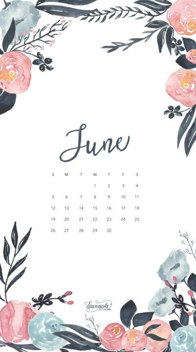 Обои iPhone wallpaper calendar June 2016 | Обои iPhone wallpapers | Pinterest | Calendar june ...