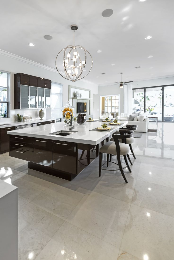 luxury real estate contemporary kitchen lighting 84 Custom Luxury Kitchen Island Ideas Designs Pictures Modern Kitchen LightingContemporary