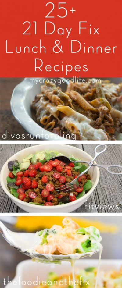 21 Day Fix Lunch and Dinner Recipes   The o'jays, 21 day fix and Next day