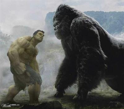 Hulk vs King Kong | Marvel | Pinterest | Nice, King and ...