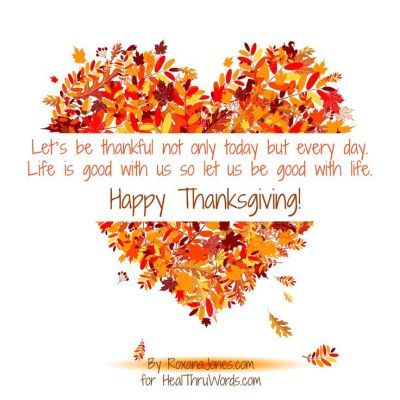 Happy #Thanksgiving! Let's be thankful not only today but every day. Life is good with us so let ...