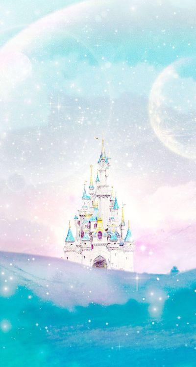 Disney castle Line iphone wallpaper | Iphone wallpapers | Pinterest | Disney, Disney princess ...