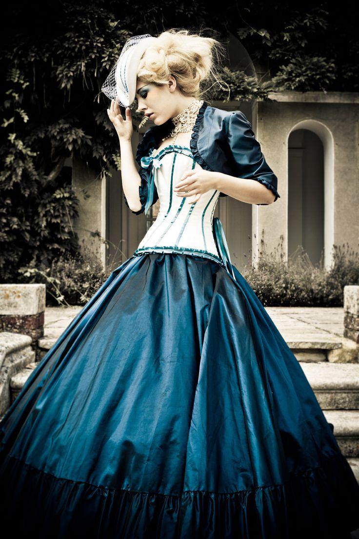 wedding theme steampunk steampunk wedding dresses Alternative Wedding Dress Steampunk Victorian Corset Gothic 1 00 via