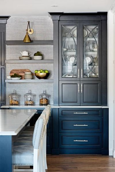 17 Best ideas about Black China Cabinets on Pinterest | Black hutch, Refinished china cabinet ...
