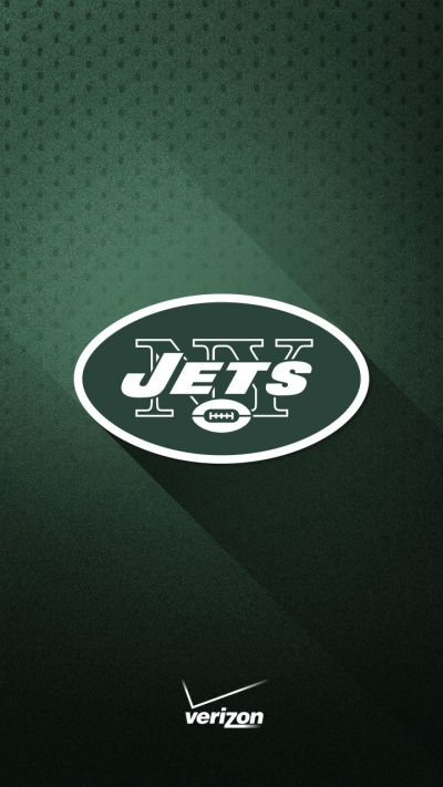 Show your loyalty to the New York Jets with this green and white smartphone wallpaper from ...