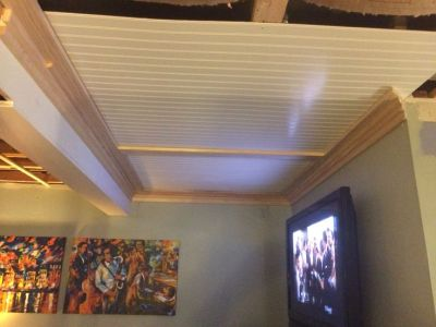 25+ best ideas about Drop ceiling panels on Pinterest | Dropped ceiling, Drop ceiling grid and ...