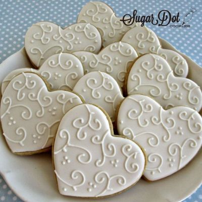 Best 25+ Wedding Cookies ideas that you will like on ...